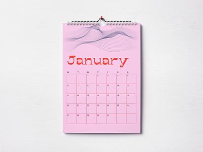 Calendar #1 dailyuichallenge poster a day dailyui 038 poster art calendar2020 calendar poster vector design figma
