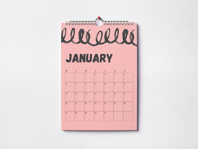 Calendar #2 daily ui 038 poster a day poster art poster calendar 2020 calendar illustration vector design figma