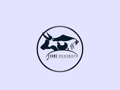 Visual brand identity design for farm rehoboth brand design branding farm logo logo farm