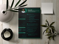 Dark Theme Resume