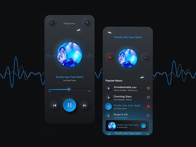 Music App Design music music player app design music app design mobile app app ux u ui