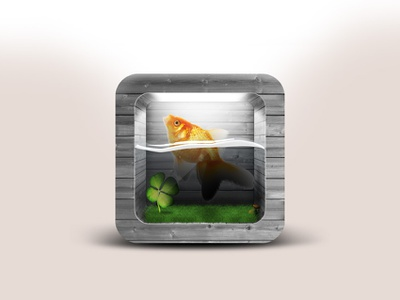 Fish icon photoshop red fish norooz fish icon