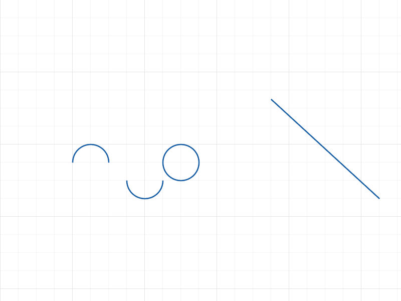 when ur drawing and u make something cute grid monday nothing illustrator drawing lines curves circles process