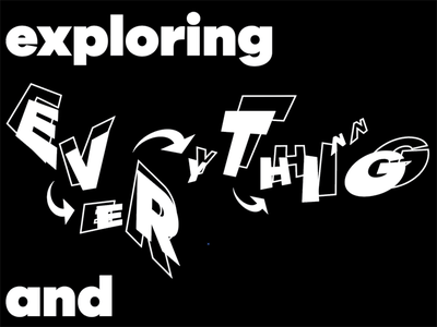 Everything bw sans galano typography black and white