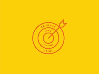 No. 1 galano grotesque icon orange yellow point target arrow