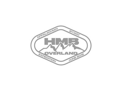 HMB badge mark logo patch offroad trucks hmb 4x4 overlanding badge
