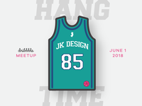 JK Design Dribbble Meetup