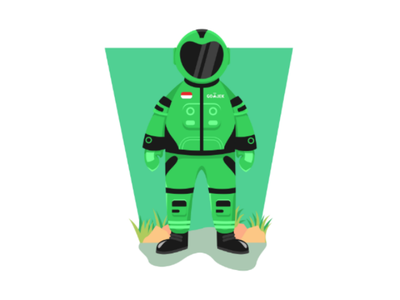 Go - Astro Concept Design flatillustration flatdesign
