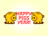 Happy Pigs Year!