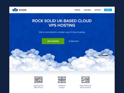 Kloud hosting website