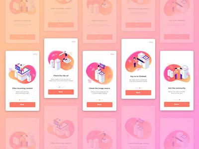 Splash Screen Illustration Exploration uiillustration splashscreen isometric uiux app landing page ui flat illustration simple illustration design digital