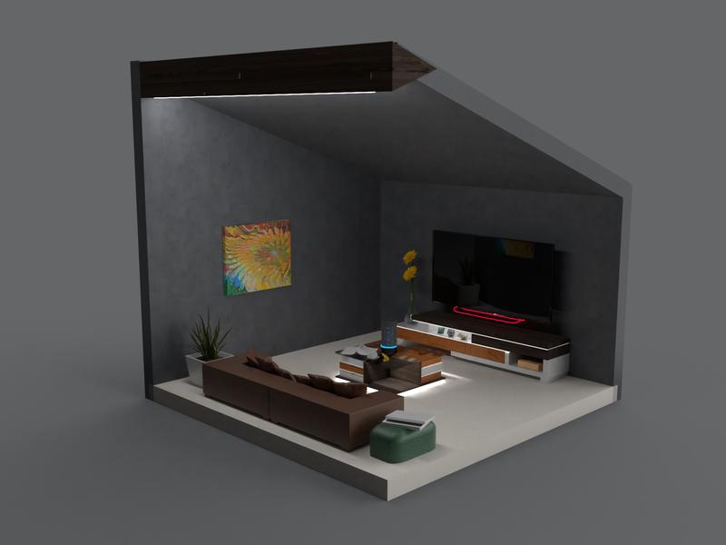 Tv Room Concept
