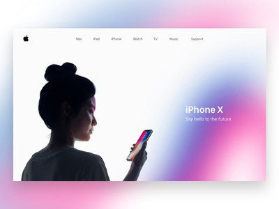 Apple Homepage apple homepage iphone ui sketch design layout website homepage apple
