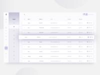 Attendance list ui desktop app school soft ui table list attendance dashboard