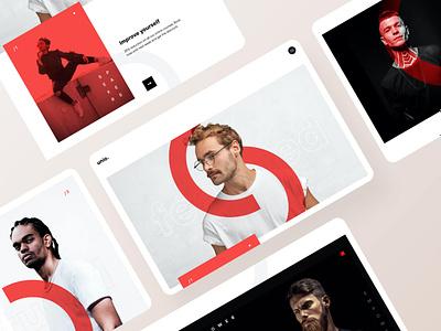 Modern Minimal Online Course Webdesign trend fashion webdesign minimalist landingpage stylescape style minimal