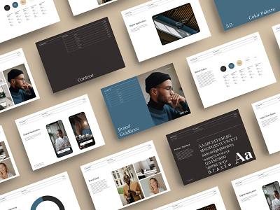 THETA Branding Styleguide typography design branding styleguide brand