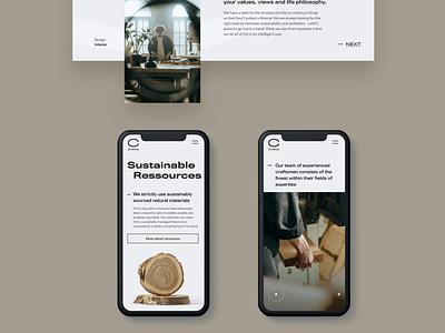 Crafta Wooden handcrafts | Mobile Design uiux responsive uidesign mobile