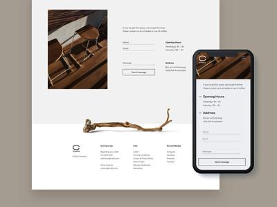 Crafta Responsive Webdesign wood website responsive