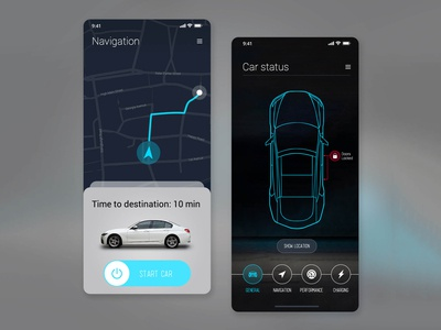 Car Interface UI