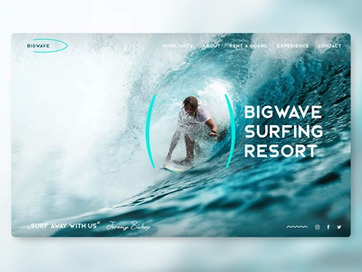 Big Wave Desktop