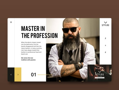 Stylos | Barber Webdesign