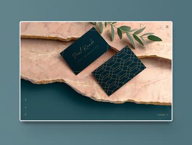 Elegant Brand Concept