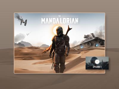 The Mandalorian UI Inspiration