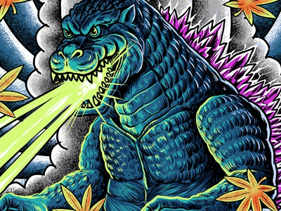 king of monster japanese tattoo