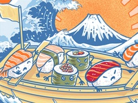 pirates sushi off kanagawa