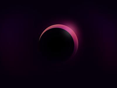Eclipse sun space eclipse