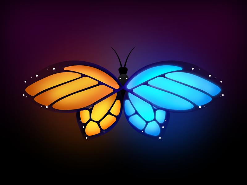 Butterfly butterfly symmetry