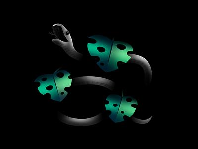Black Mamba illustration