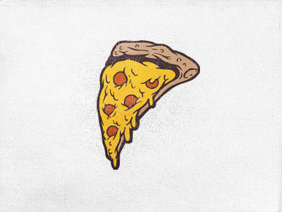 Pizza logo side dribbble