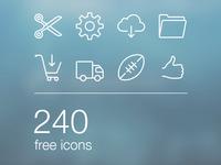 Free iOS7 Icons