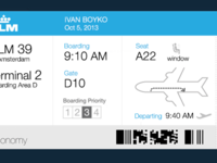 Boarding Pass Improved