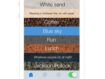 Textures for iPhone apps iphone textue bars tabbar emotional design routines