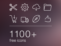 Huge set of iOS 7 icons