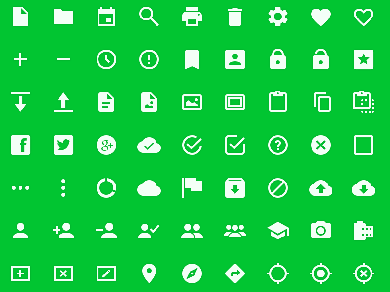 Android l icons
