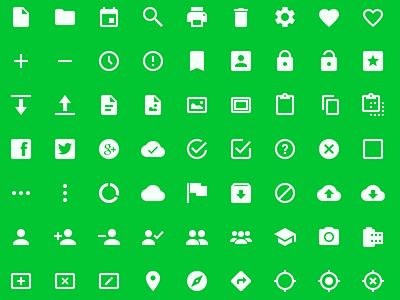 Android L Icons #FridayFreebie  fridayfreebie icons androidl freebie android