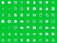 Android L Icons #FridayFreebie