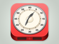 iOS Icon for a timer app