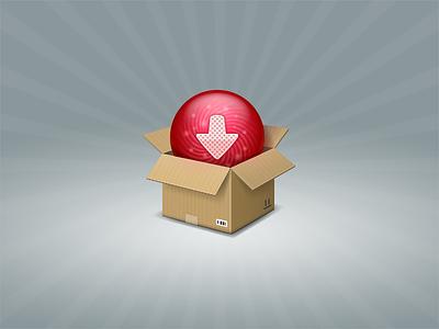 Download download sphere ball box cardboard arrow buy receiving