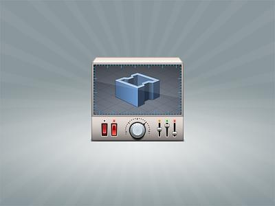 Design Automation design automation device 3d controls button switcher screen