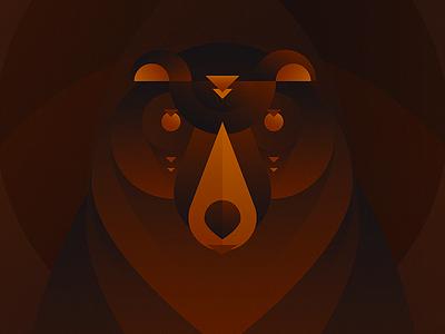 Wanda, the nice bear. illustration animals bear