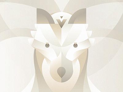 Kostya, the sweet wolf. illustration animals wolf