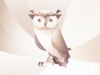Aigle, the diligent owl.