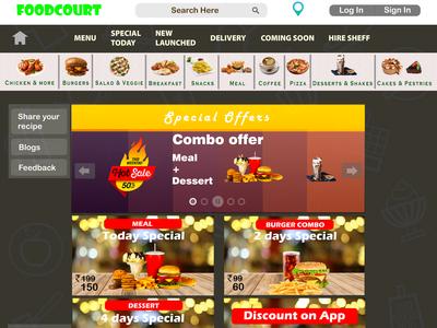 Fastfood Website