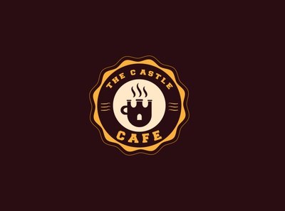 the castle cafe Logo