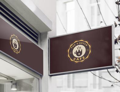the castle cafe Logo