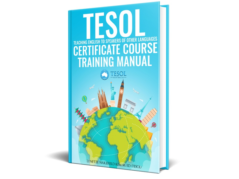 The TESOL Certificate Course Training Manual Book cover
